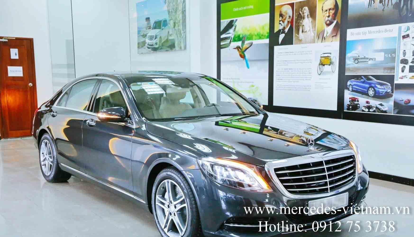 Giá xe Mercedes S400 L tốt nhất - LH: 0938 898 282