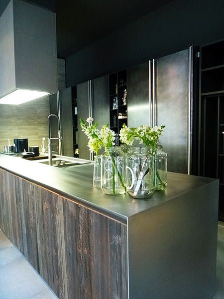 Superbe Stainless Steel Bench Tops Kitchen Design   Google Search