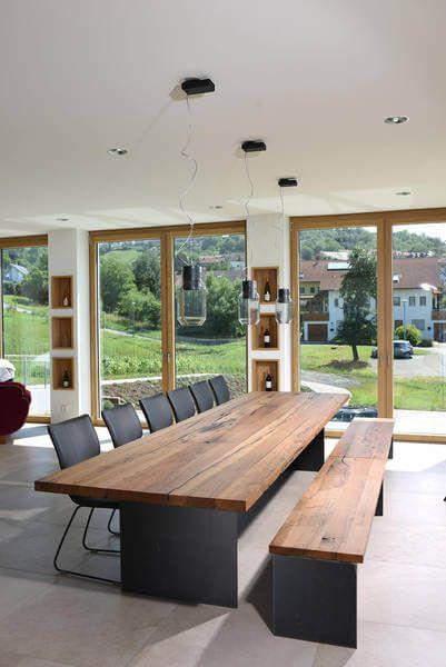 Innenarchitektur   Innenausbau - Weingut Biehlmayer, Showroom für - arbeitsplatte holz küche