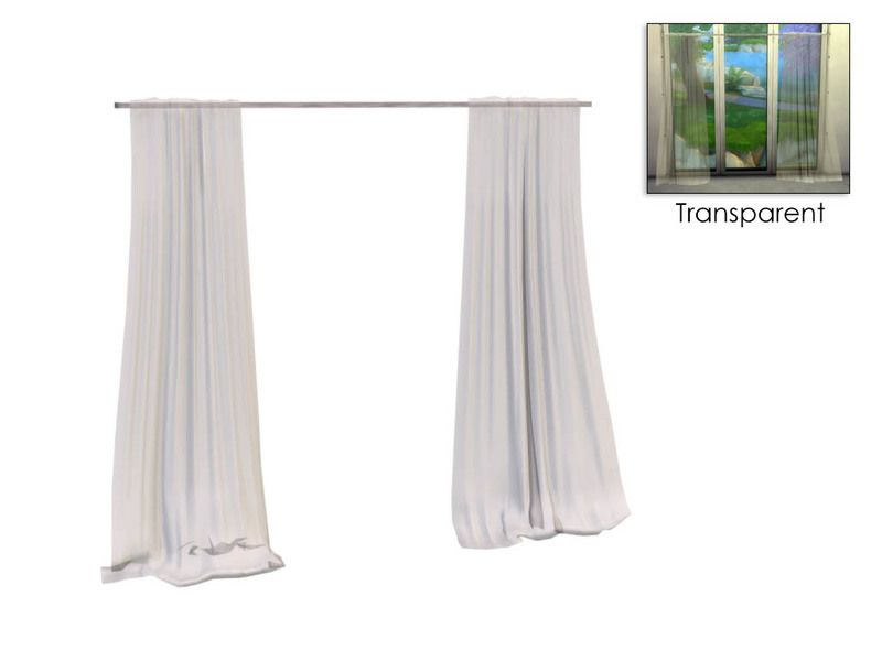 A Set Of Sheer White Curtains As Part My Emerson Dining Room Found