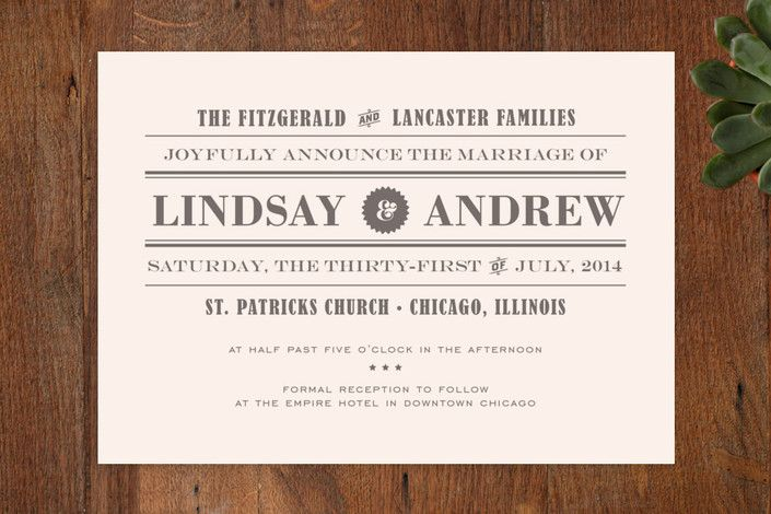 invitation front page design