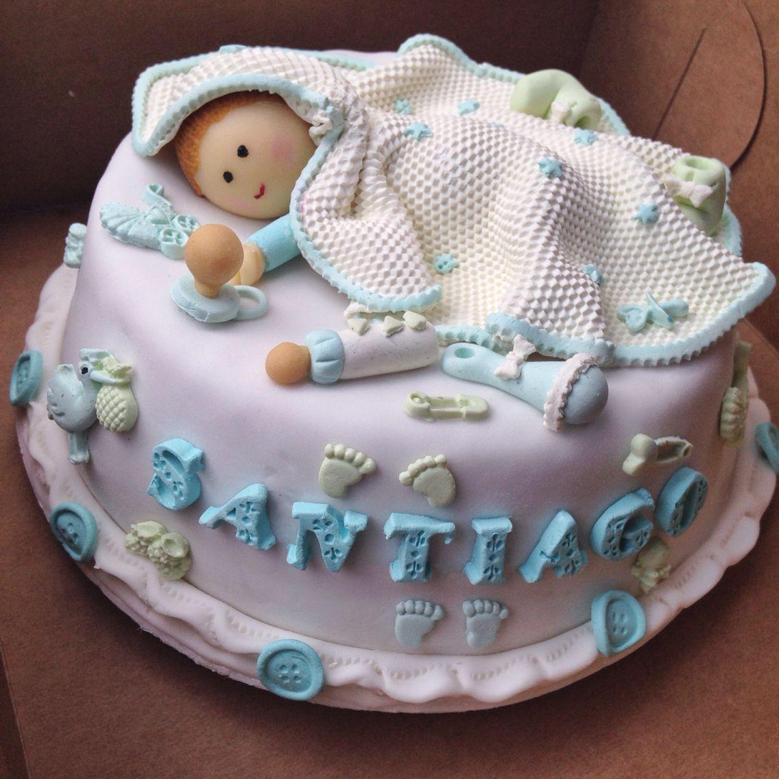 ¡Bienvenido Santiago! #cake #tortas