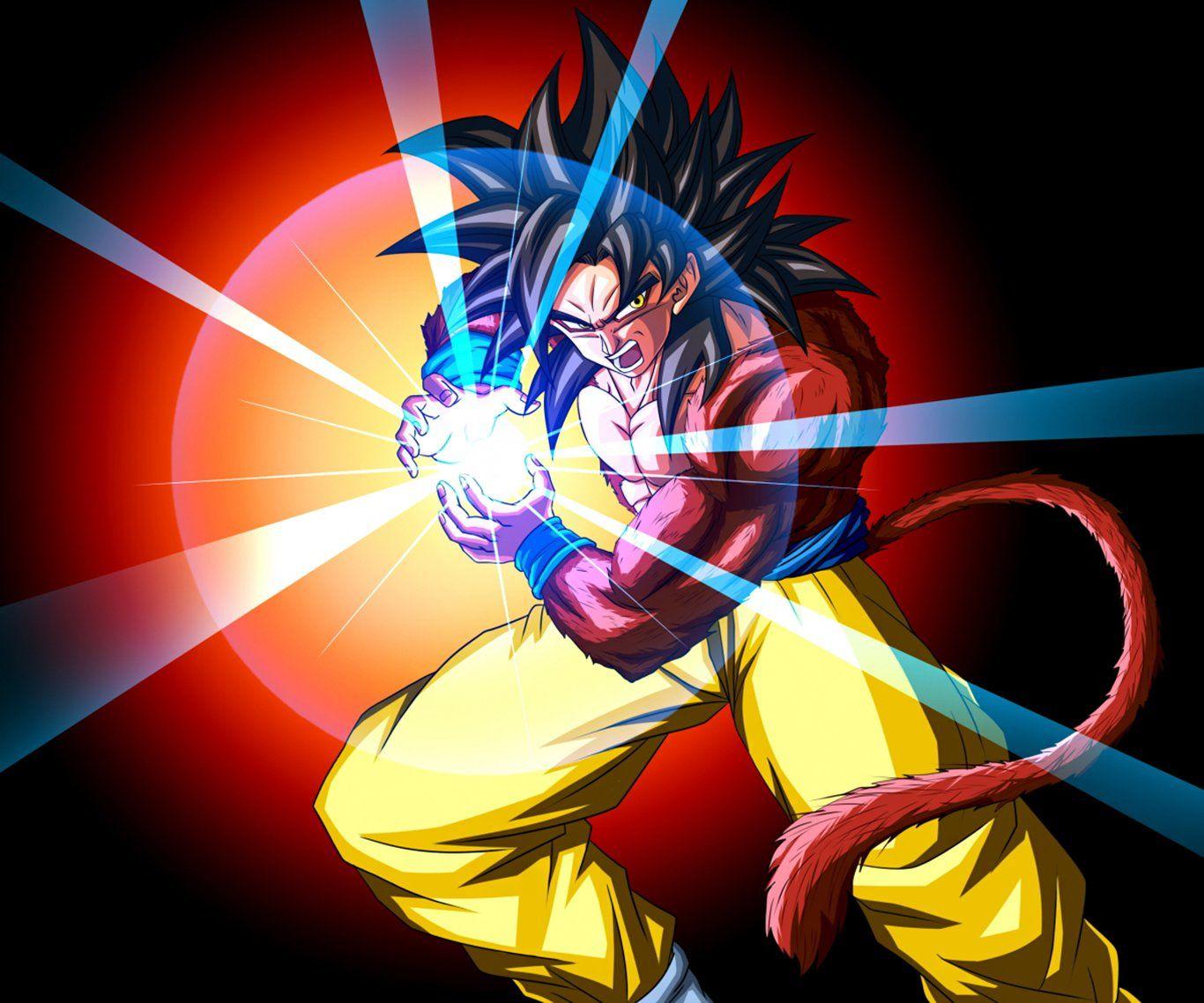 Anime Dragon Ball GT Dragon Ball Super Goku Super Saiyan 4