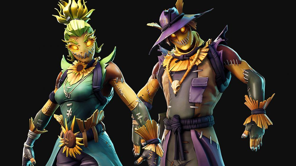 Fortnite Halloween Skin Leak Reveals Scarecrows And T Poses