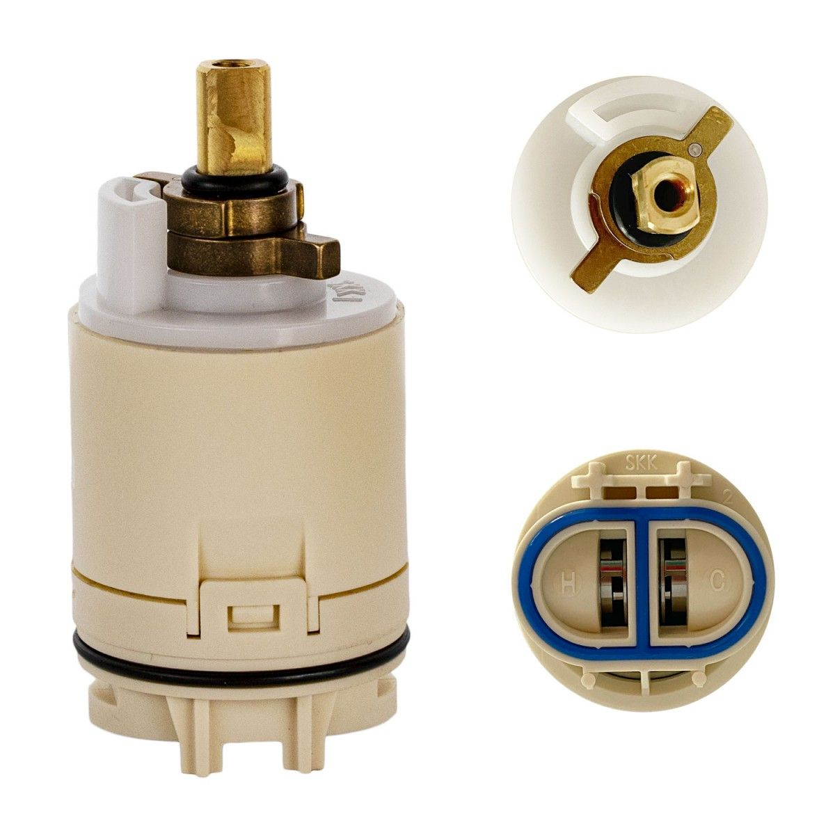 Flowrite Rp70538 Replacement Cartridge For Peerless Tub And Shower Pressure Balance Valve Faucet R In 2020 Faucet Repair Shower Tub Shower Repair