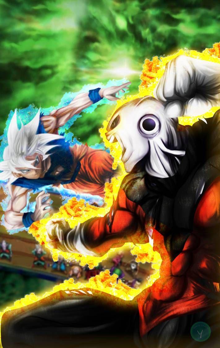Dragon Ball Super Cover 25 Goku vs. Jiren by YametaStudio on ...