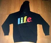 Image of L.i.f.e. hoodie in black