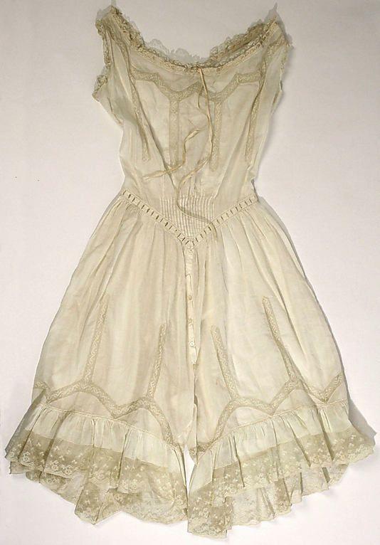 Combination, c.1900. Metropolitan Museum, New York