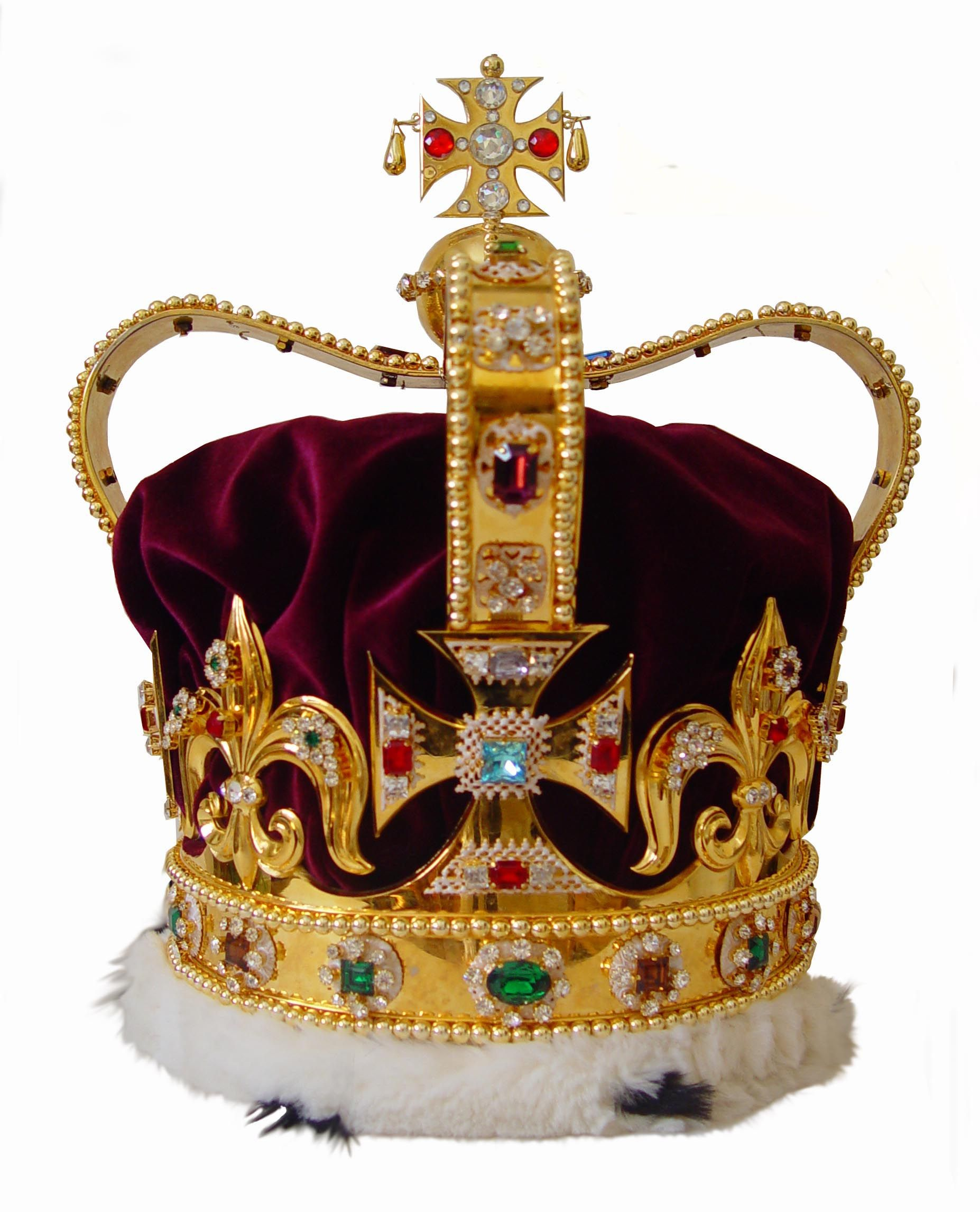 SAINT EDWARD'S CROWN ~ This crown is the most important of ...