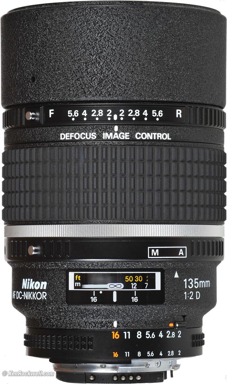 Nikon 135mm F 2 Dc Review Nikon Lenses Nikon 135mm Nikon