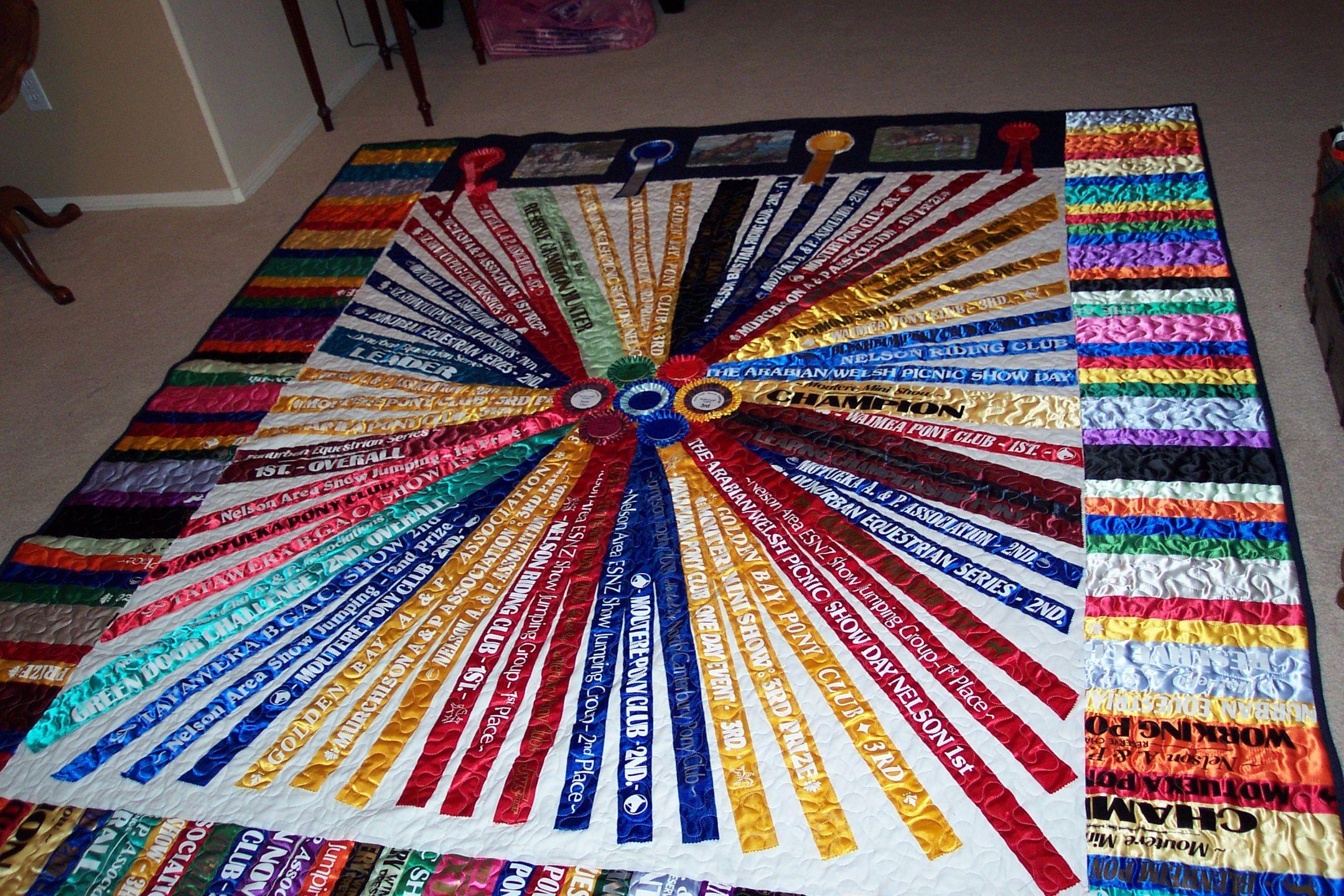 Keepsake Ribbon Quilts Quilts Ribbon Quilt Horse Quilt Horse