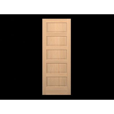 Karona Door Wood 5 Panel Slab Interior Door Wood Doors Interior Doors Interior Interior Window Trim