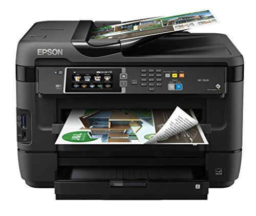 Buy Epson WorkForce WF-7620 Wireless Color All-in-One Inkjet