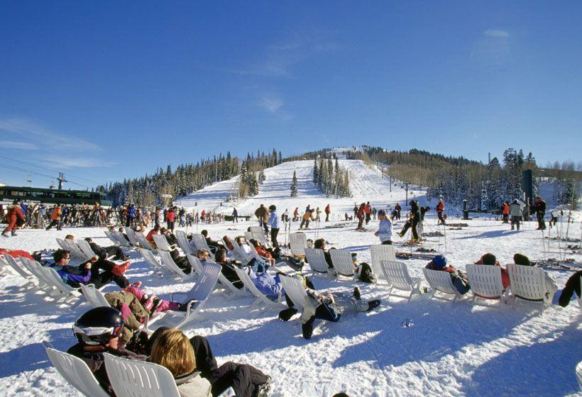 Sitting At The Beach Deer Valley Ski Resort