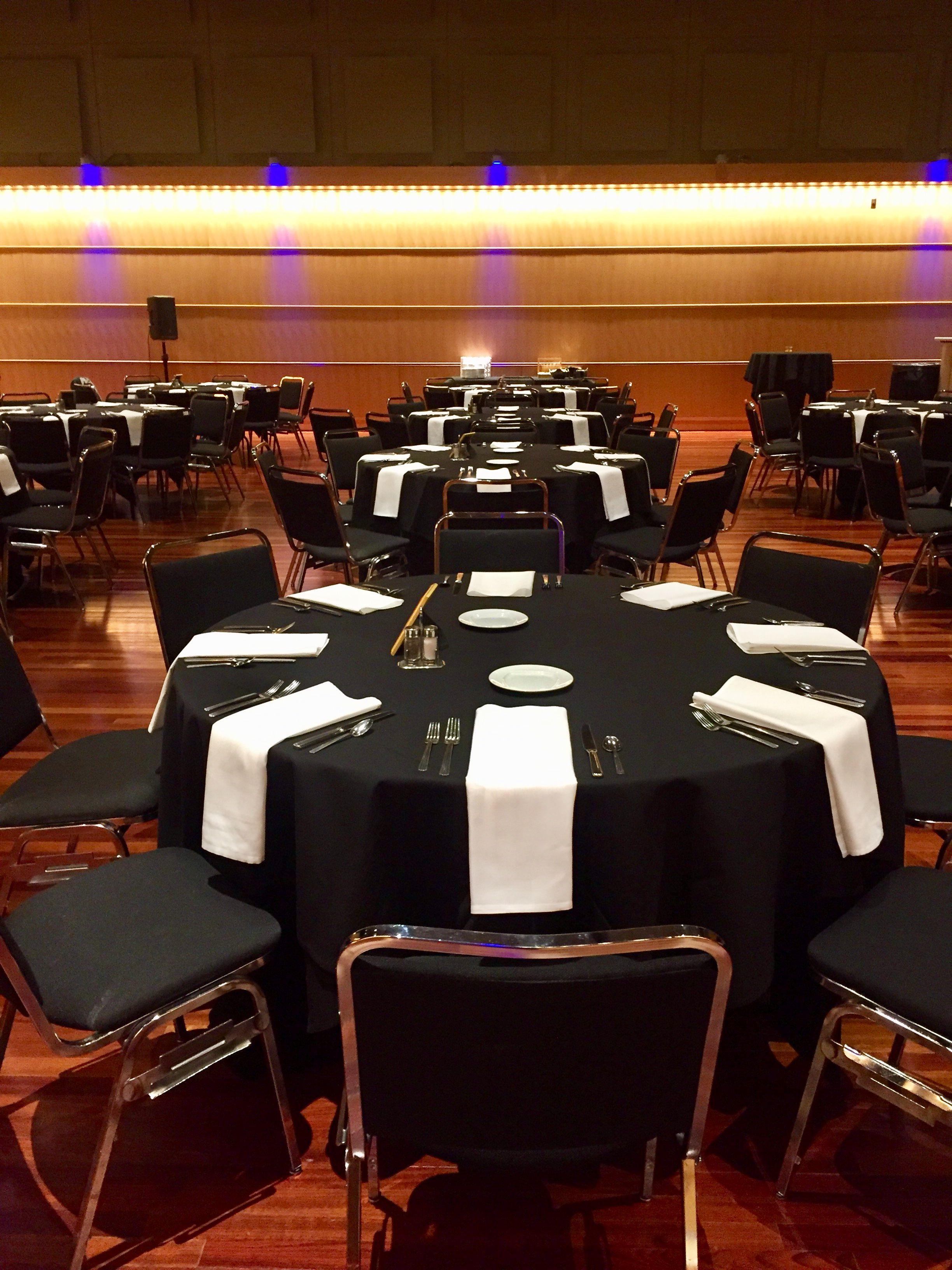 Corporate reception in promenade hall conference hall