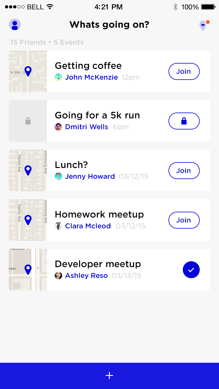 """Whats going on?"" Activity List 