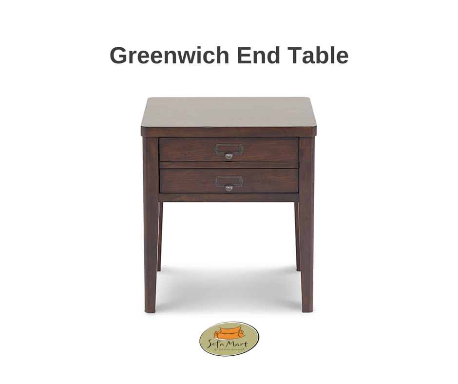 Greenwich End Table At Sofa Mart