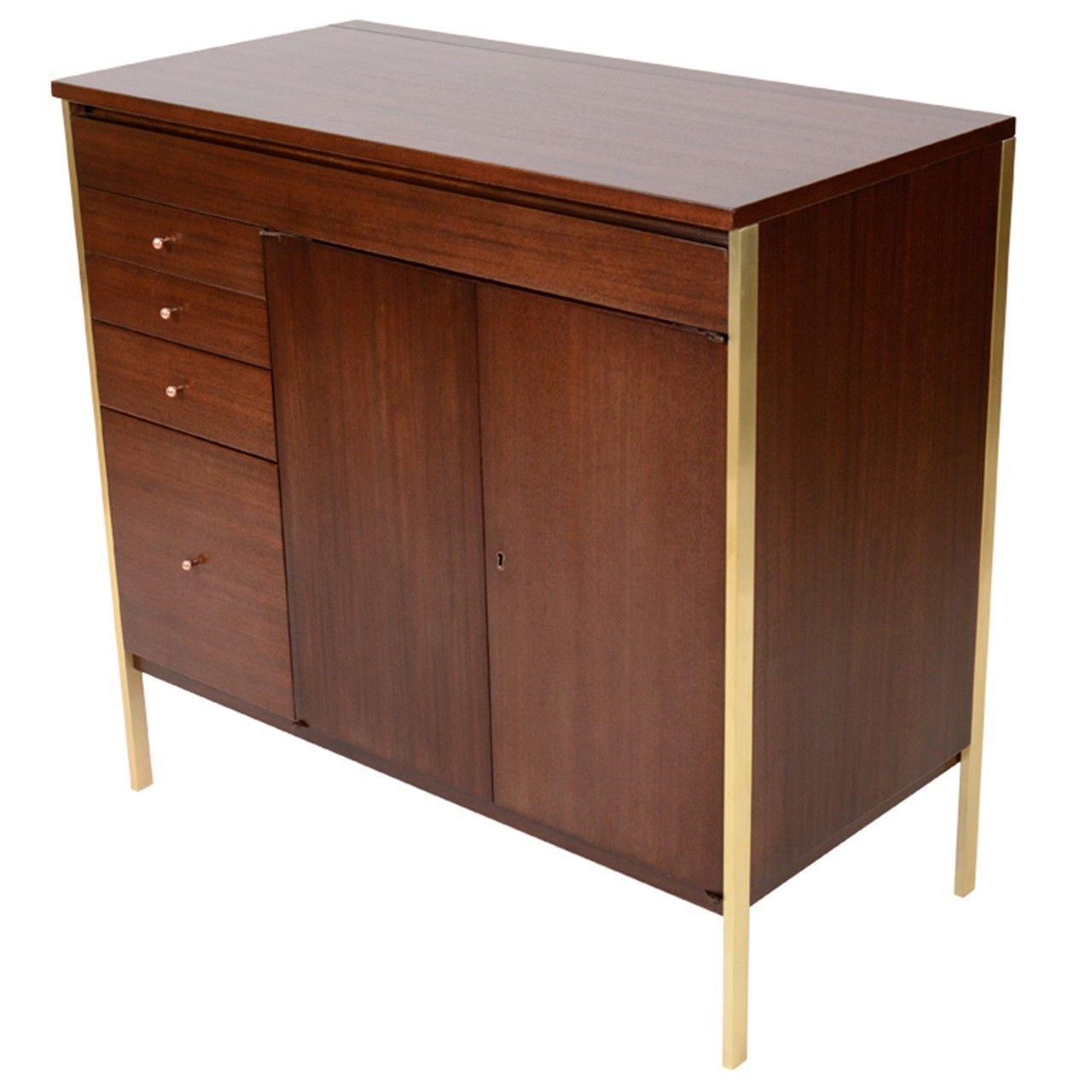paul mccobb connoisseur collection bar cabinet