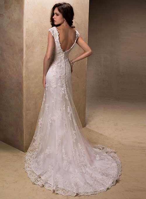 Muito 30 Modelos de Vestidos de Noiva Simples INCRÍVEIS! | Vestido de  GB31
