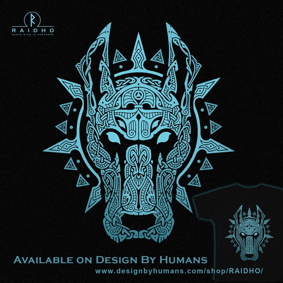 garm hellhound wildhunt knotwork t shirt by raidho like pinterest tattoo tatoo and tatting. Black Bedroom Furniture Sets. Home Design Ideas
