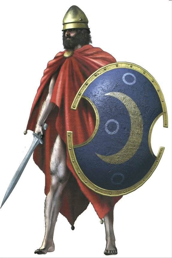 Hoplite Judging by the crescent moon he comes from ...