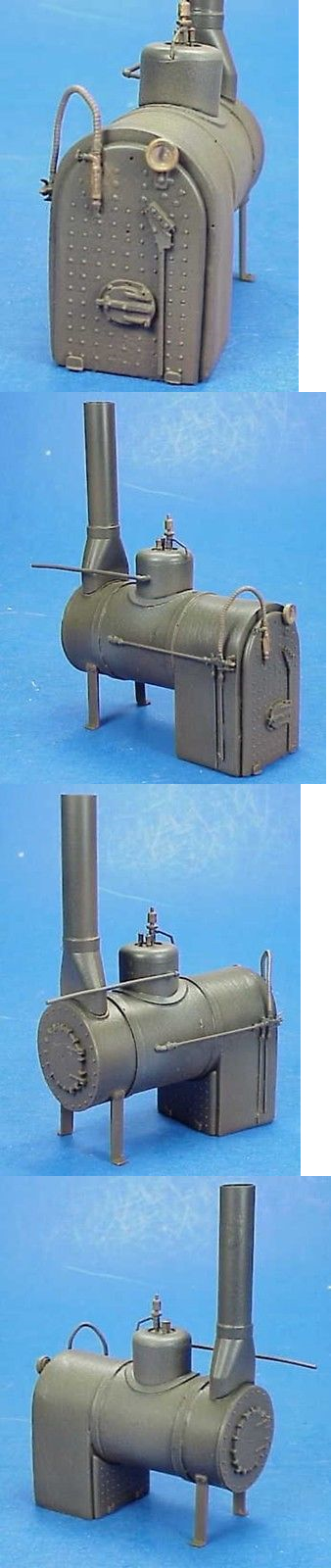 Other Narrow Gauge 9037: O On3 On30 1 48 Wiseman Model Services Stationary Horizontal Boiler Kit -> BUY IT NOW ONLY: $39.95 on eBay!