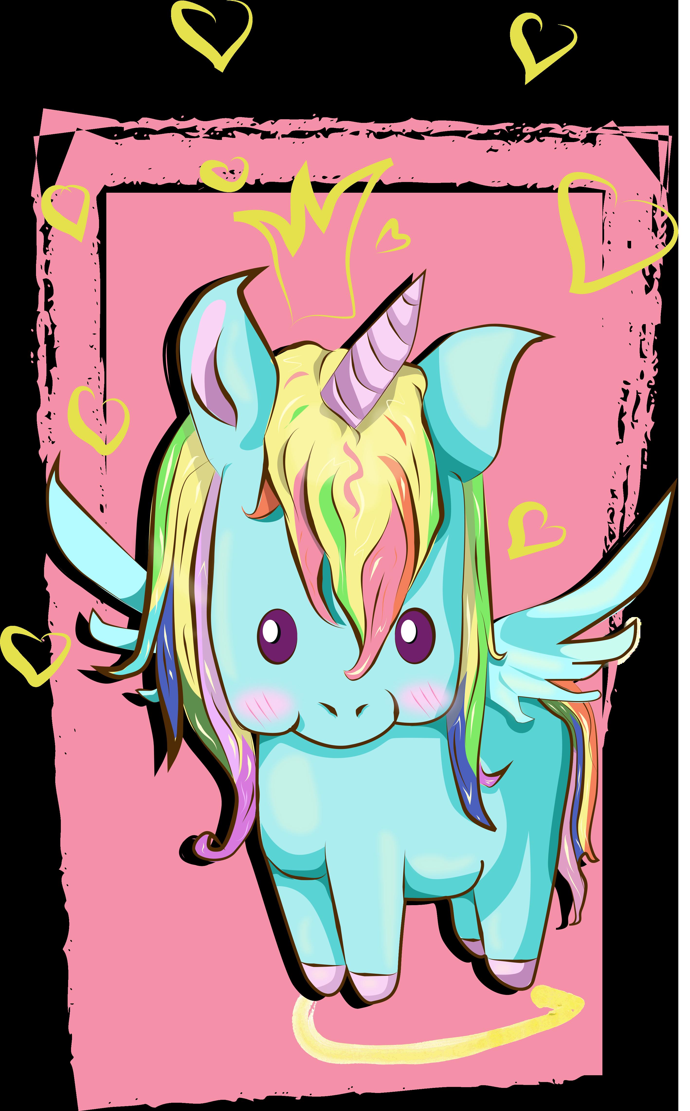 Unicorn Speedpaint Vector Art Anime Art Beautiful Magic Art