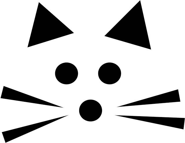 Download Cat face pumpkin carving pattern stencil template designs ...