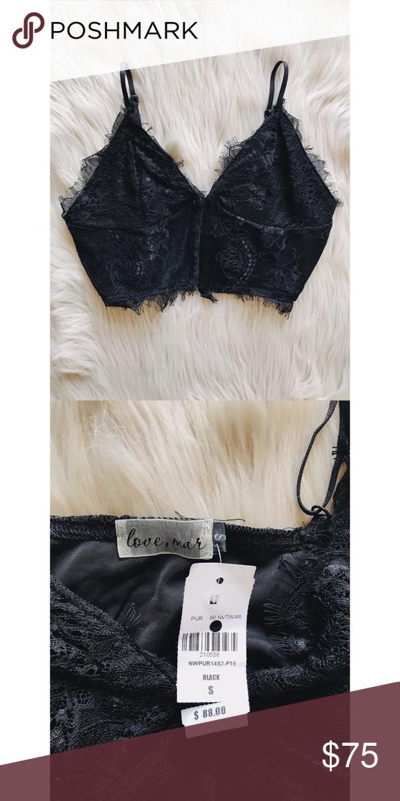 a48153654a7c NWT LF Love Mar Lace Bralette NWT LF Intimates & Sleepwear   My Posh ...