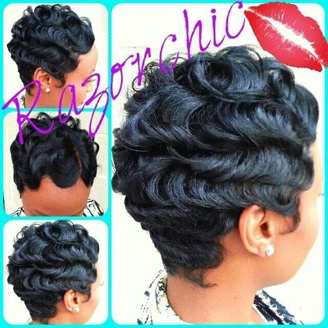 Gorgeous F L A U N T Pinterest Short Hair Styles Natural Hair Styles Sassy Hair