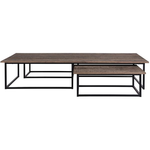 flamant alvia coffee tables set of 3