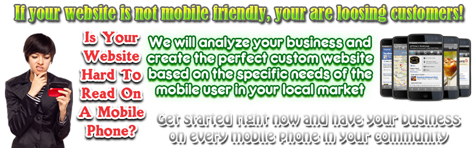 Unlike PC websites, mobile websites require less downloading of photos and videos to prevent time wasting on the mobile phone.Viewers are not patient when it comes to viewing your product so you have to make sure that accessing your website in a mobile phone will be fast. Navigation is also one of the keys that must be considered in mobile websites.