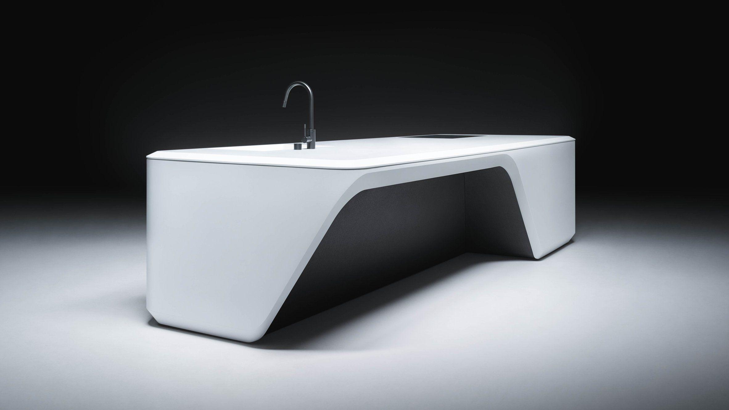Boffi_cove By Zaha Hadid Architects Interior Details Pinterest  # Muebles De Zaha Hadid