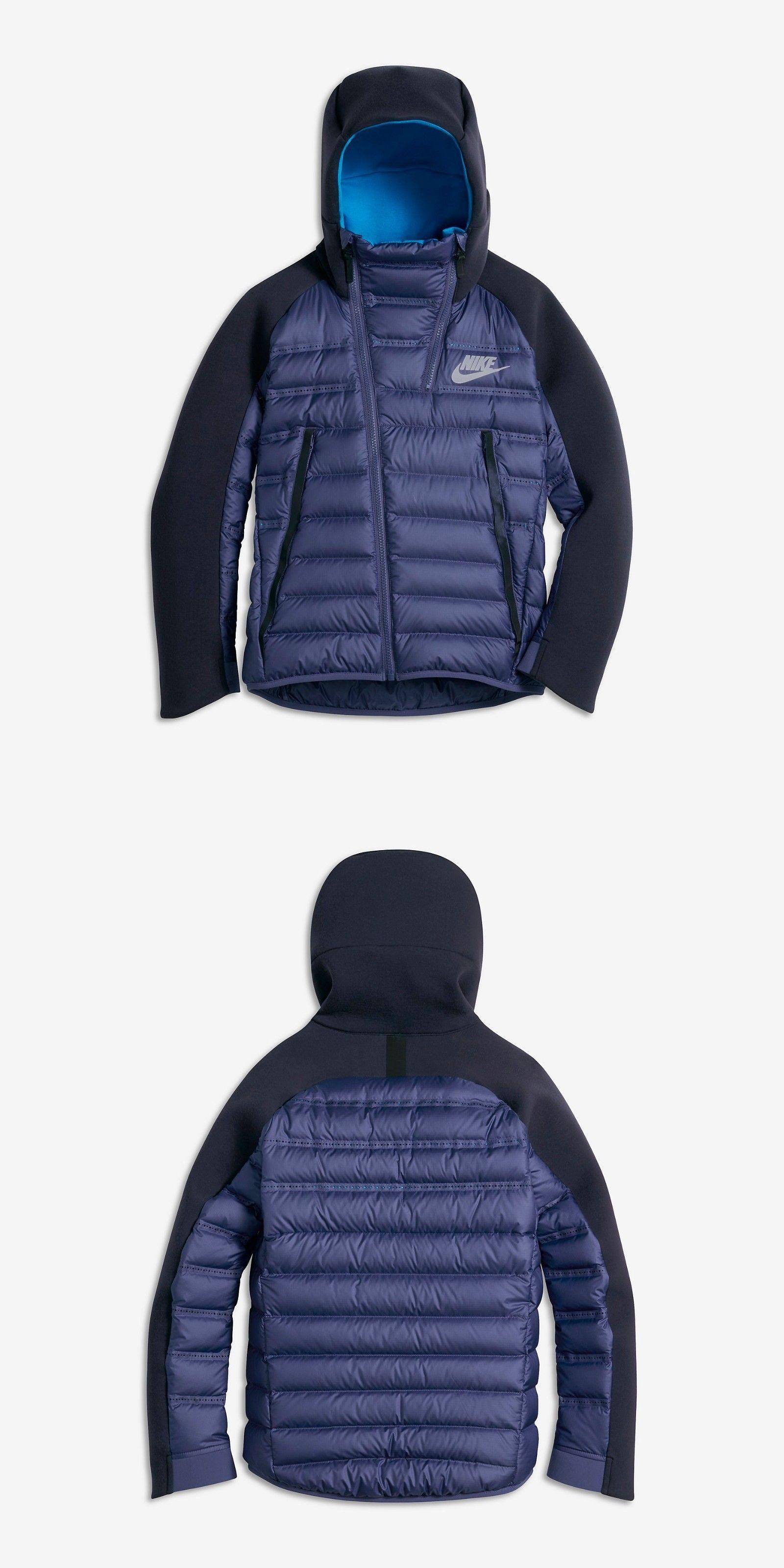 5b2f3dd0007d Sweatshirts and Hoodies 57916  Nike Sportswear Tech Fleece Aeroloft Jacket  Dark Purple 804969-508 Boys Sz Large -  BUY IT NOW ONLY   109.95 on eBay!