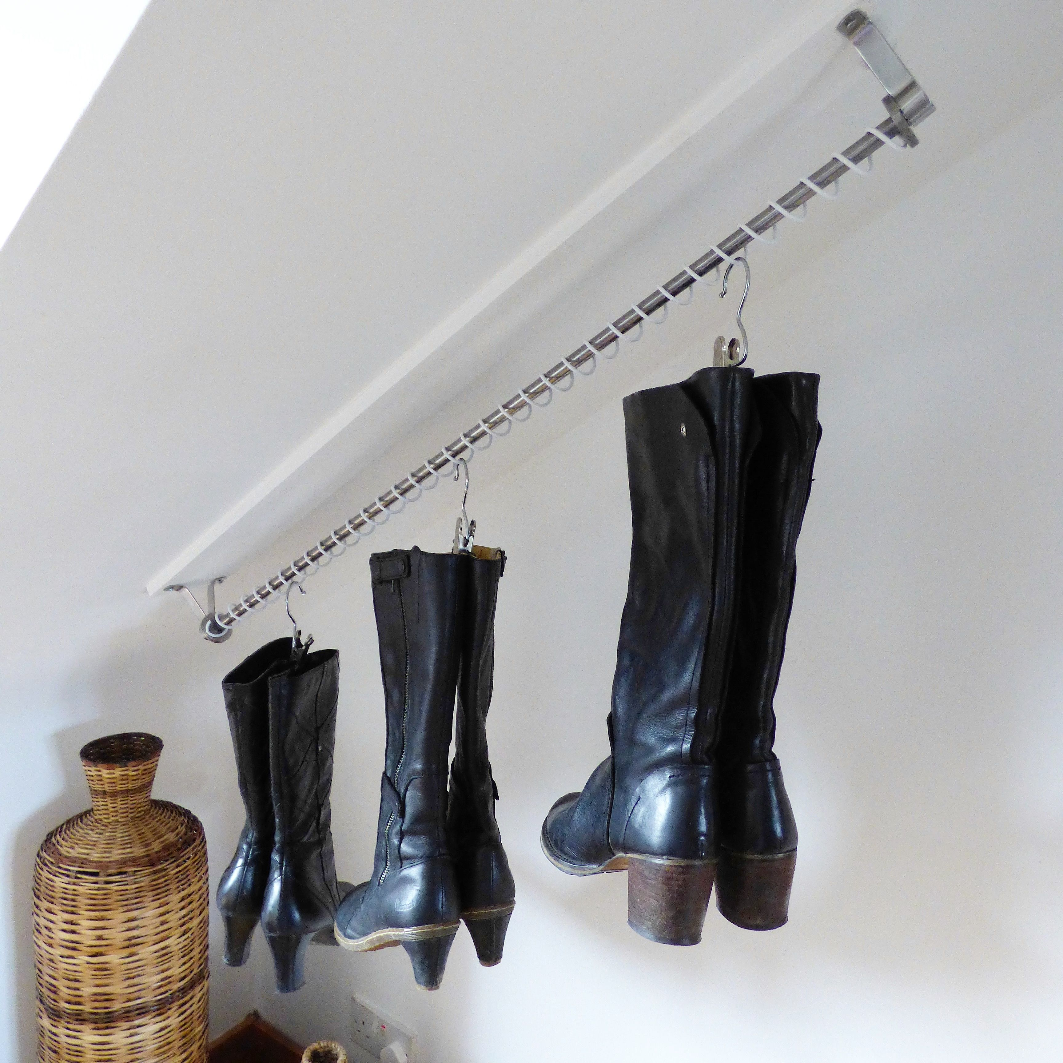 Best A Zebedee Hanging Rail Make A Pretty Cool Shoe Or Boot 400 x 300