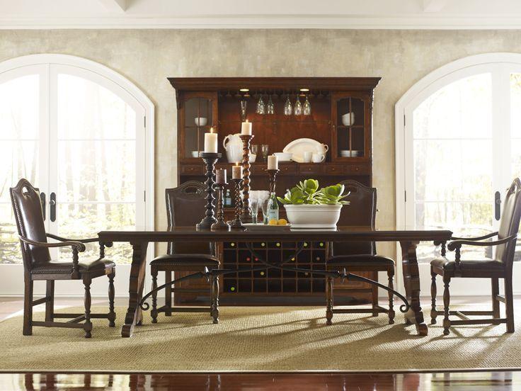 Spanish Dining Table Plank Top  Stunning Dining Table In A Enchanting Spanish Dining Room Table Review