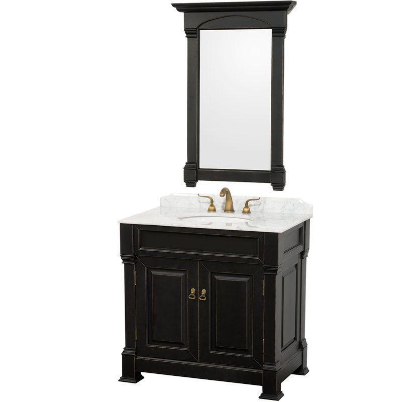 Wyndham Collection Wcvts36blcw 36 Andover Build Com Black Vanity Bathroom Traditional Bathroom Vanity 36 Inch Bathroom Vanity 36 inch black bathroom vanity