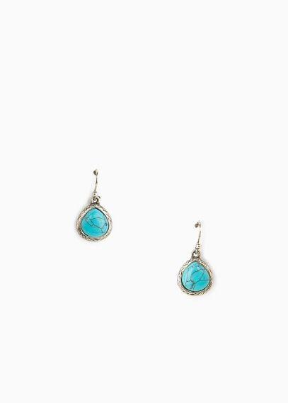 techniques modernes comment avoir offre spéciale Boucles d'oreilles quartz - Bijoux pour Femme | MANGO Outlet ...