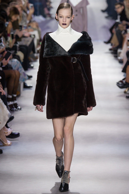 Christian Dior Fall 2016 Ready-to-Wear Fashion Show Cuty ingurgitated by a mink