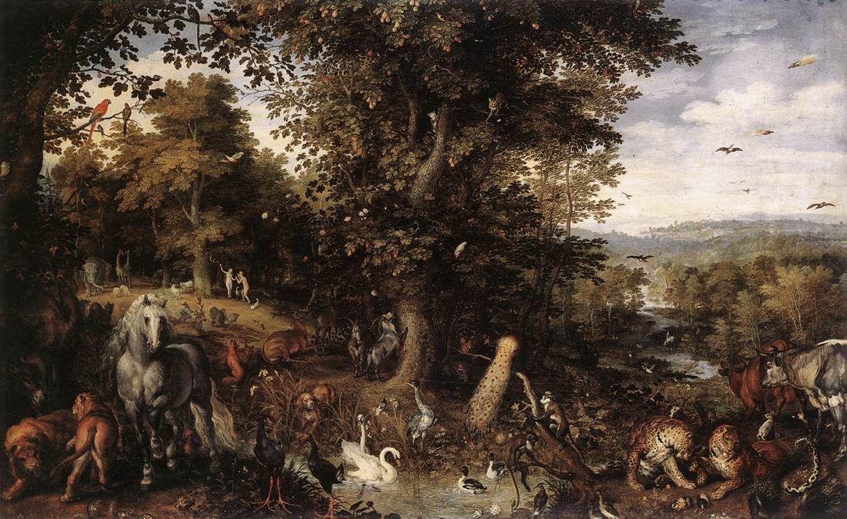 Garden Of Eden | Art Renewal Center :: Jan the elder ...