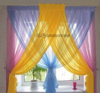 90+ Beautiful Colorful Curtain Ideas To Make Amazing Scenery in Your Home #diycurtains