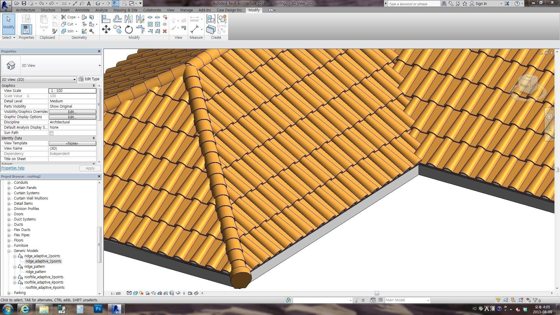 Revit Tips Spanish Roof Adaptive Insane Version Revit Tutorial Autocad Revit Revit Architecture