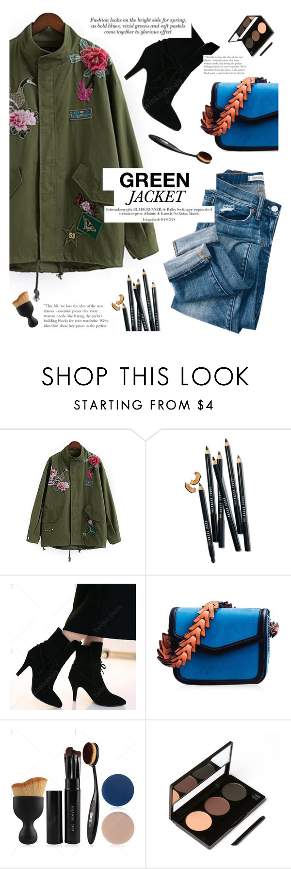 """TD"" by yexyka ❤ liked on Polyvore featuring Bobbi Brown Cosmetics"