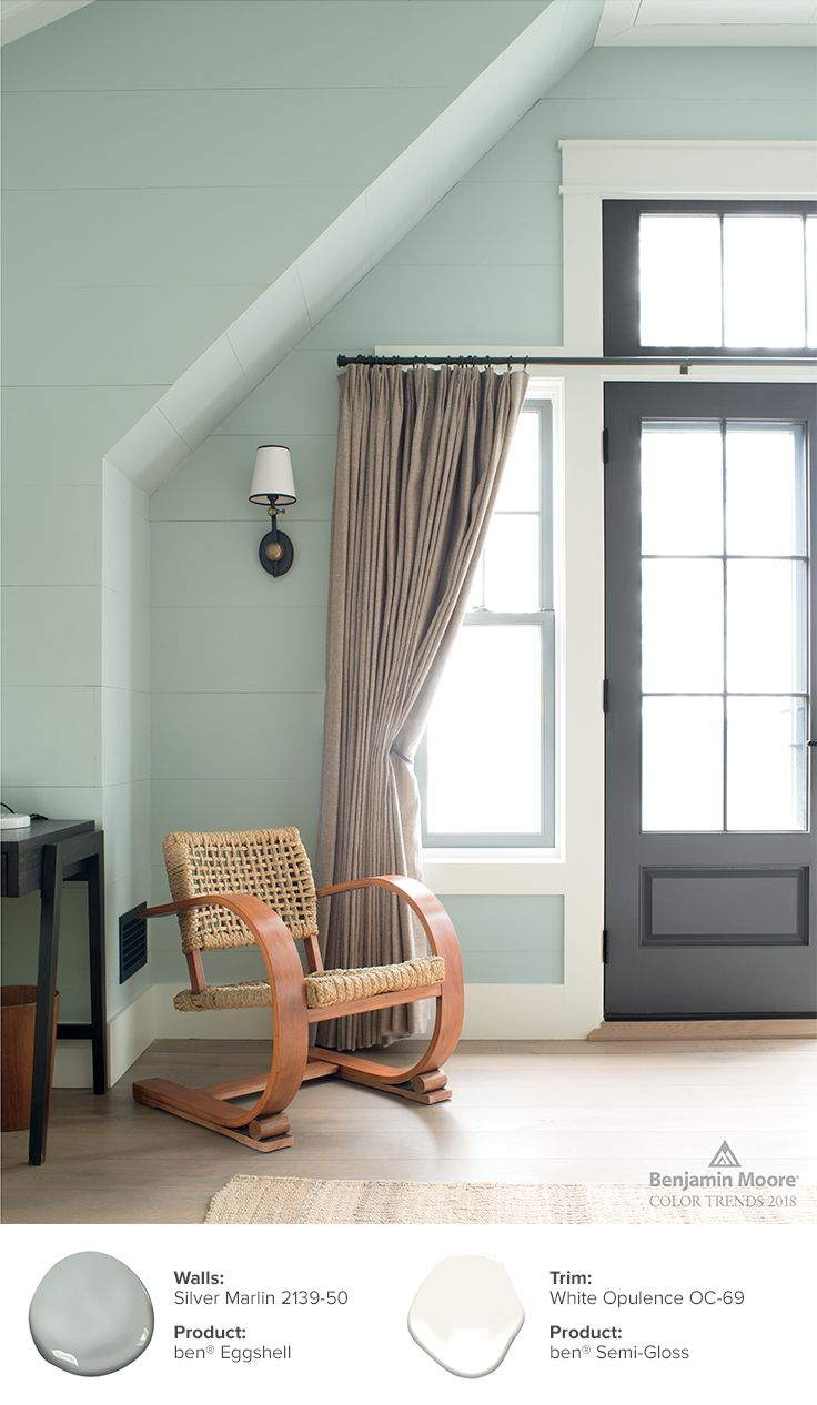 Color trends color of the year 2019 metropolitan af - Benjamin moore interior paint colors ...