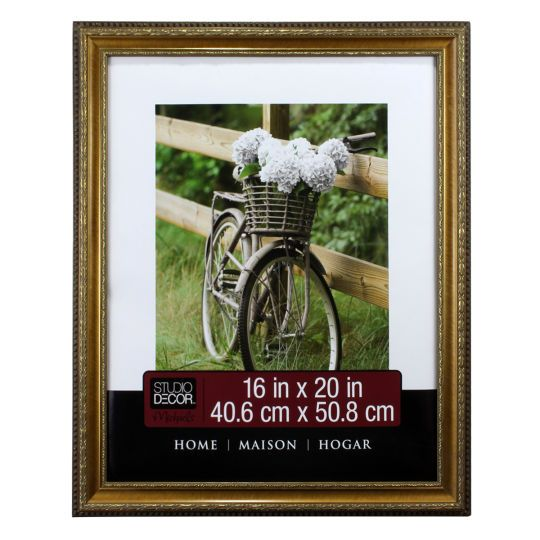 <div>Display a cherished photograph or artwork in this beautiful wall frame. The inner and outer...