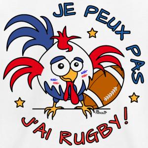 2f5f77dee4 Tee-shirt Premium Enfant Coq Gaulois, Je Peux Pas, J'ai Rugby | T ...