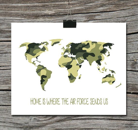 World map travel quote poster home is where the navy air force world map travel quote poster home is where the navy air force marines army military gumiabroncs Images