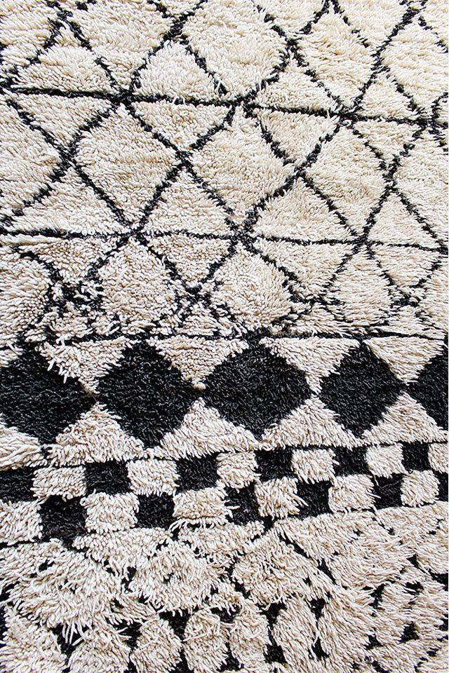 Un tapis géométrique