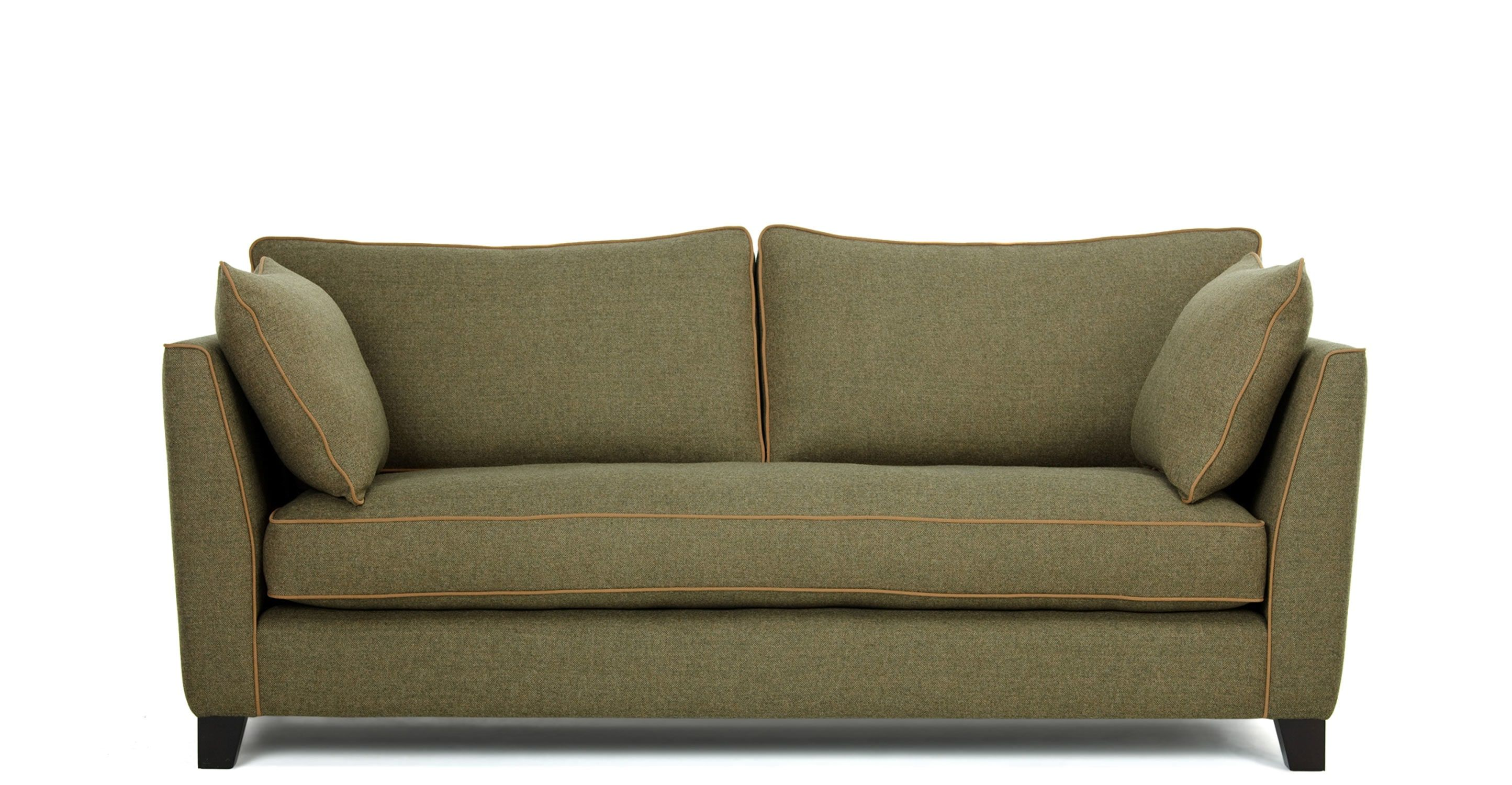 Wolseley 3 Sitzer Sofa, Tweed In Gr N
