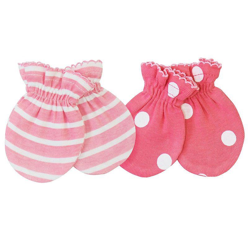 Gerber Girls Baby Mittens-Baby  df18233ee18e